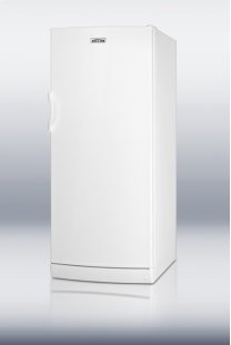 "Full-sized medical auto defrost all-refrigerator with internal fan in thin 24"" footprint"