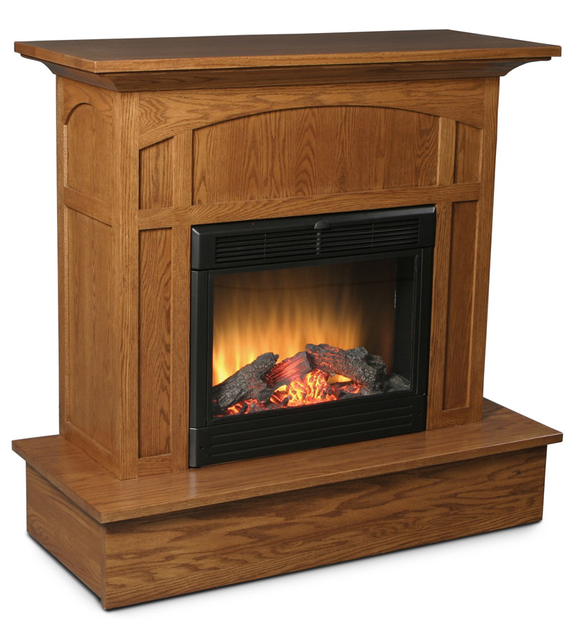 Amish Electric Fireplace