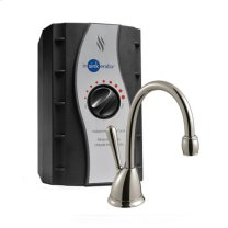 H View Instant Hot Water Dispenser - Satin Nickel