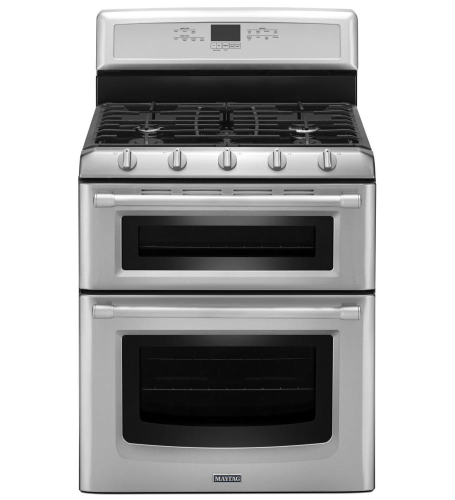 Maytag double oven gas range - Maytag electric double oven range ...
