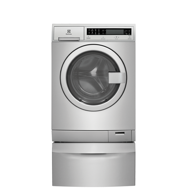 Compact Washer with IQ-Touch(R) Controls featuring Perfect Steam(TM) - 2.4 Cu. Ft.  Stainless Steel