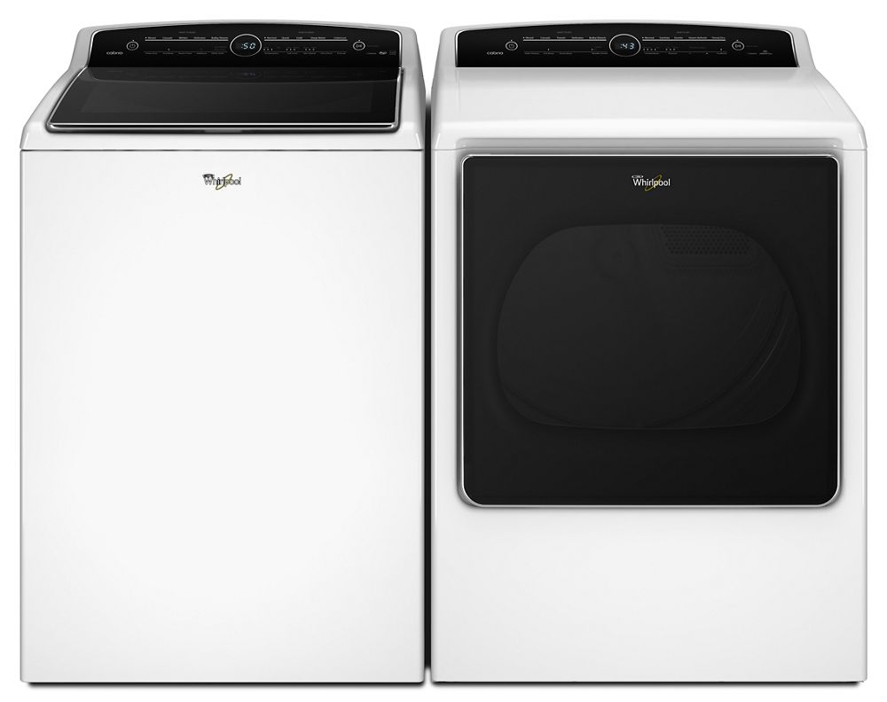 5.3 cu. ft. High-Efficiency Top Load Washer with Active Spray Technology  White