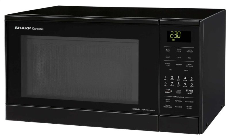 ... Carousel Countertop Convection + Microwave Oven 0.9 cu. ft. 900W Black