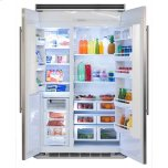 MarvelProfessional Built-In 48&quot Side-by-Side Refrigerator Freezer - Marvel Professional Built-In 48&quot Side-by-Side Refrigerator Freezer - Panel-Ready Overlay Doors*
