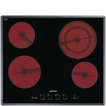 SmegSmeg 60CM (24&quot) Ceramic Cooktop Angled-edge Glass