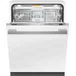 Fully-integrated, ADA dishwasher with hidden control panel, cutlery tray and custom panel and handle ready
