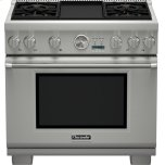 Thermador36 inch Professional Series Pro Grand Commercial Depth Liquid Propane Range PRL364JDG