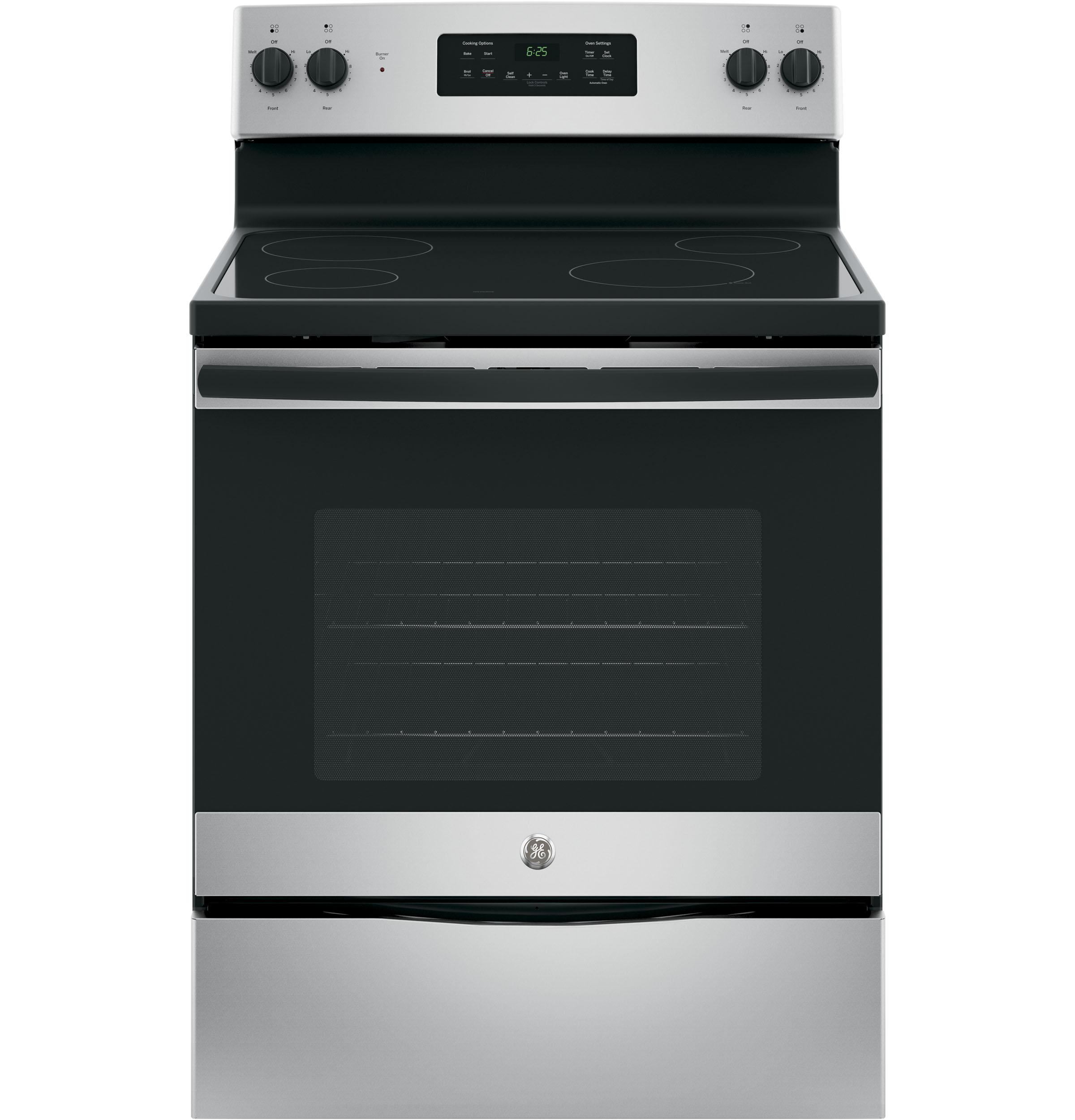 "GE(R) 30"" Free-Standing Electric Range