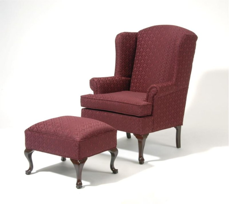 Sealy Mattress Warehouse 2200662 in by Hughes Furniture in Albany, NY - 2200 Wing Back Chair