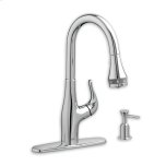 American StandardPolished Chrome Xavier Pull-Down Kitchen Faucet with SelectFlo Technology
