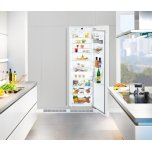 Liebherr24&quot Fully Integrated All-Refrigerator, 10.9 Cu. Ft. Capacity, Energy Star Qualified, SuperCool, Door Alarm, 5 Glass Shelves, BioFresh Drawers, VarioBoxes, MagicEye Control, LED Lights - Panel Ready