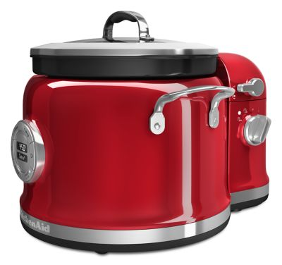 Multi-Cooker with Stir Tower Accessory - Stainless Steel
