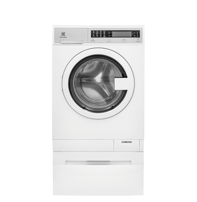 Compact Washer with IQ-Touch(R) Controls featuring Perfect Steam(TM) - 2.4 Cu. Ft.