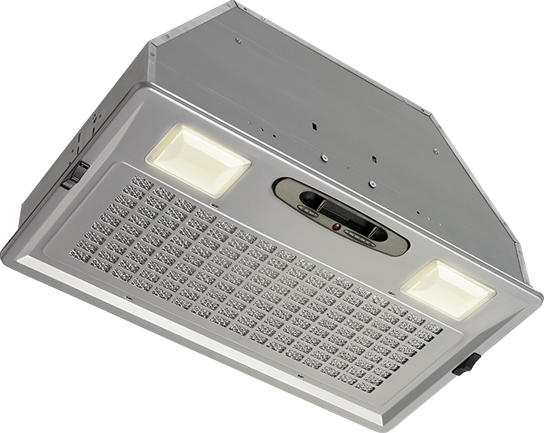 """Broan 390 CFM 20-1/2"""" wide, Custom Power Pack in Brushed Stainless Steel Finish"""