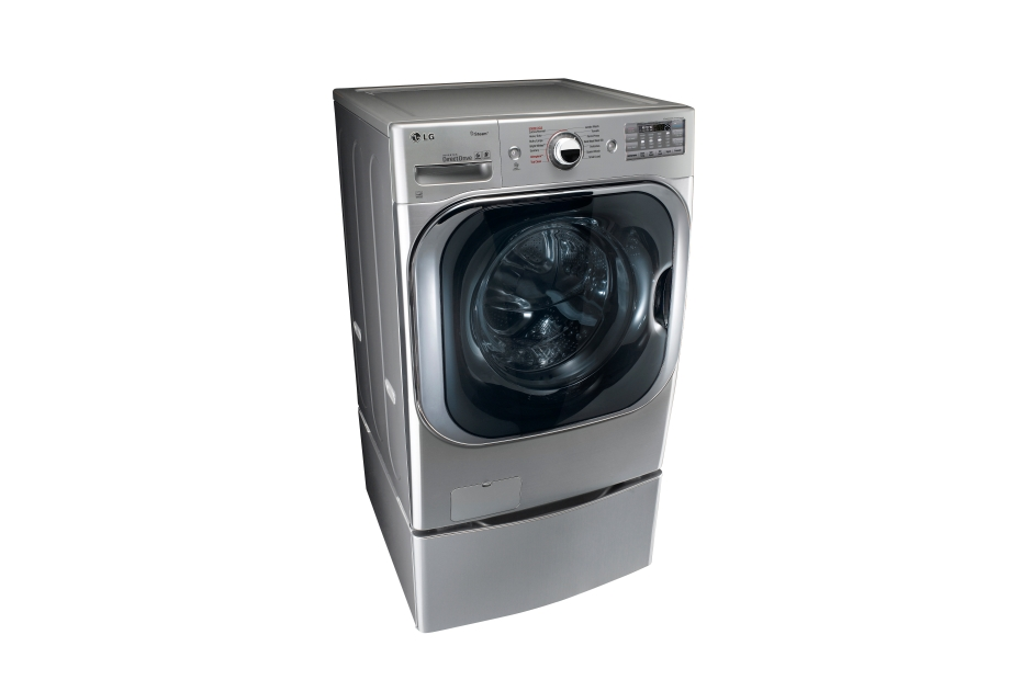 5.2 cu. ft. Mega Capacity TurboWash(R) Washer with Steam Technology  Graphite Steel