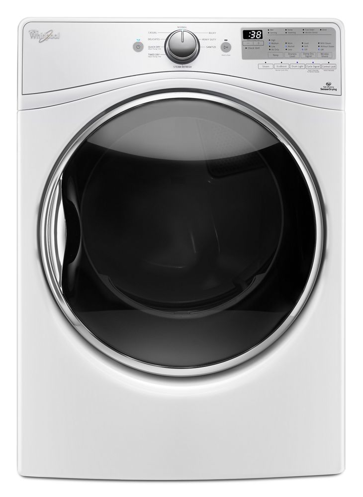 7.4 cu. ft. Electric Dryer with Steam Refresh Cycle