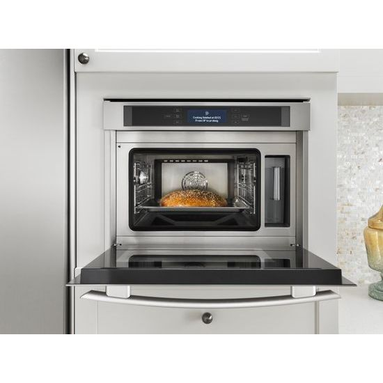 hidden additional 24inch steam and convection wall oven
