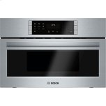 BoschBENCHMARK SERIES30'' Electric Speed Oven, 10 Power Levels, 1.6 Cu. Ft. Capacity, Stainless Steel Interior, 1,700 Watt Oven Convection, 1,000 Watt Microwave - Stainless Steel