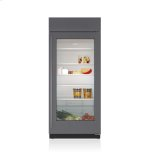 Sub ZeroSub Zero 36&quot Classic Refrigerator with Glass Door - Panel Ready