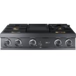 DacorDacor 36&quot Gas Rangetop with Griddle and WiFi Control - LP, High Altitude