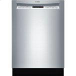 """Bosch24"""" Recessed Handle Dishwasher 300 Series- Stainless steel"""