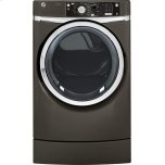 General ElectricGE(R) 8.1 cu. ft. capacity RightHeight Design Front Load electric dryer with steam