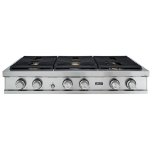 DacorDacor 48&quot Rangetop, Stainless Steel,Liquid Propane/ High Altitude