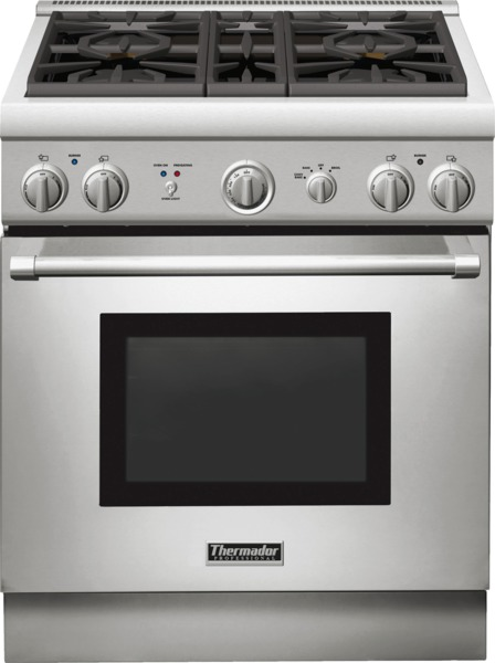 thermador 30 inch all gas pro range PRG304GH