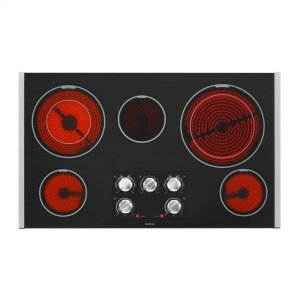 MEC9536BB&nbspMaytag&nbsp36-inch Wide Electric Cooktop with Dual-Choice(TM) Elements