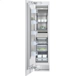 "GaggenauVario freezer 400 series RF 411 701 Fully integrated Width 18"" (45.7 cm)"