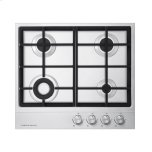Fisher PaykelFisher Paykel 24&quot Gas on Steel Cooktop LP