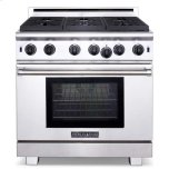 American RangeAmerican Range 36&quot Performer Range with 11&quot griddle Innovection oven with infrared broiler Liquid Propane