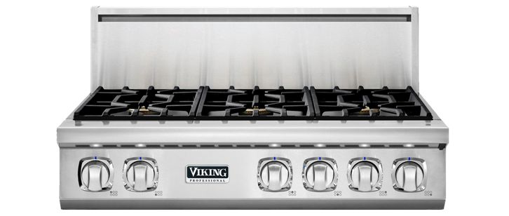 "36"" 7 Series Gas Rangetop, Natural Gas