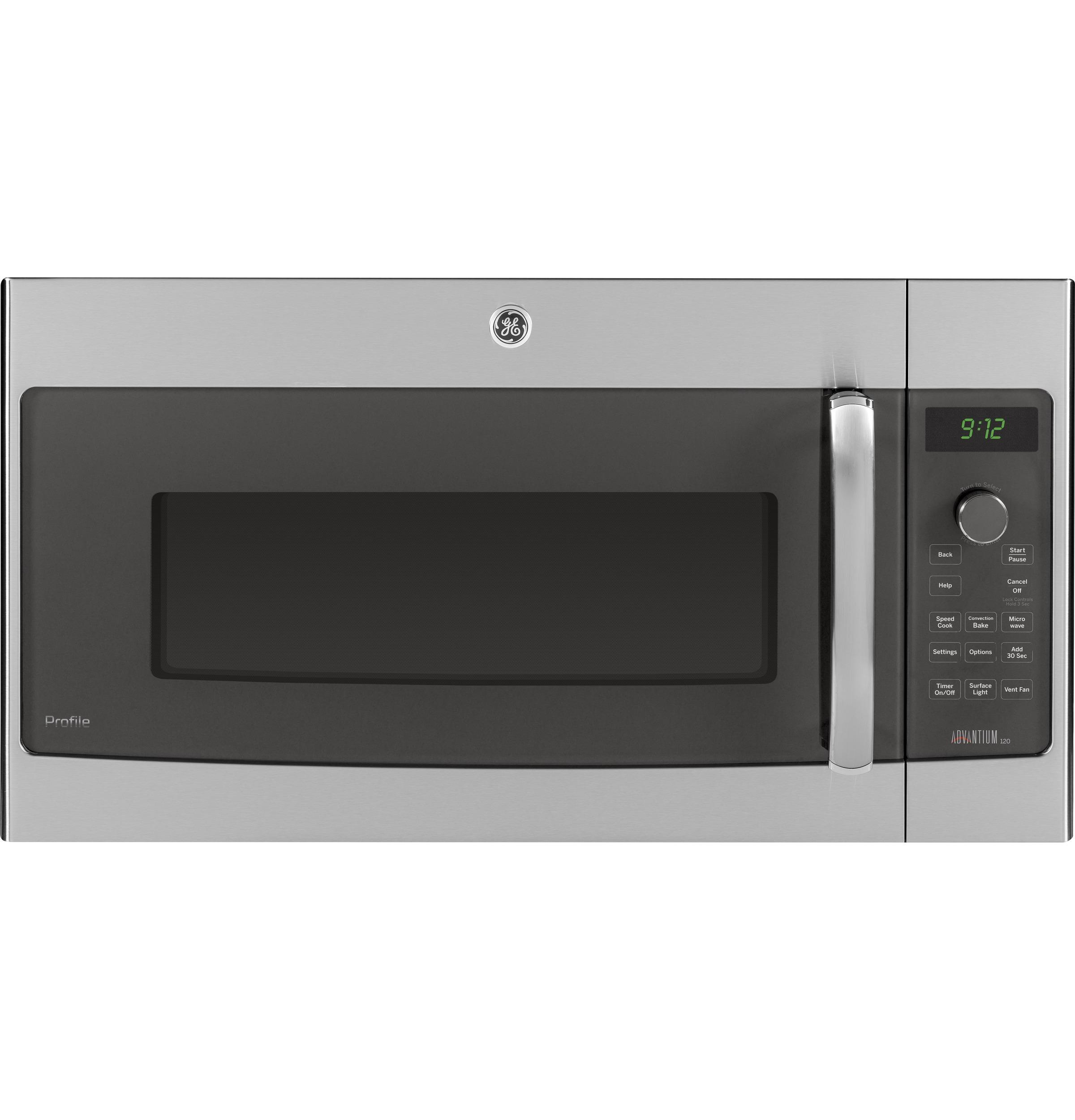 GE Profile Series Over-the-Range Oven with Advantium(R) Technology