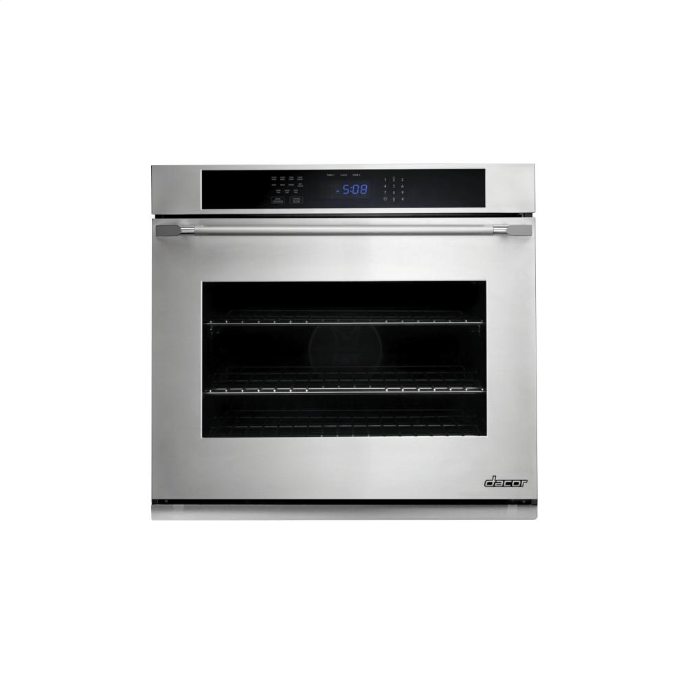 dacor ovens single wall ovens stainless steel dto130fs