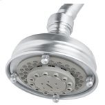 "RohlPolished Chrome 4 3/32"" Santena Multi-Function Showerhead"