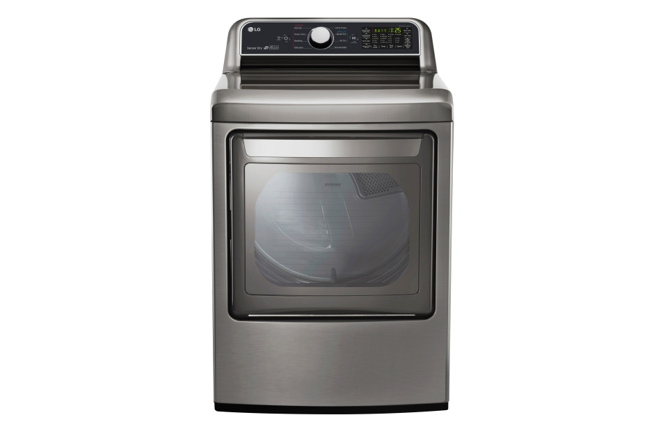 7.3 cu. ft. Ultra Large Capacity Electric Dryer with Sensor Dry Technology  Graphite Steel