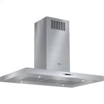 Bosch42'' Island Chimney Range Hood, 4-Speed Touch Controls, Heat Sensor, 600 CFM Internal Blower - Stainless Steel