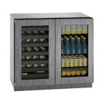 U-LineU-Line Modular 3000 Series 36&quot Beverage Center With Integrated Frame Finish and Double Doors Door Swing (115 Volts / 60 Hz)
