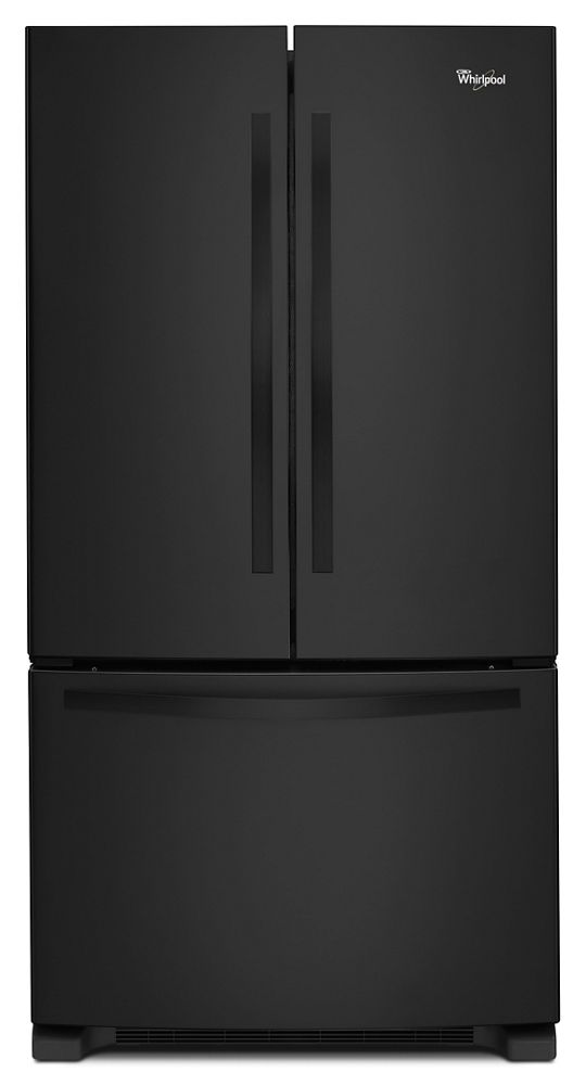 33-inch Wide French Door Refrigerator with Accu-Chill System - 22 cu. ft.  Black