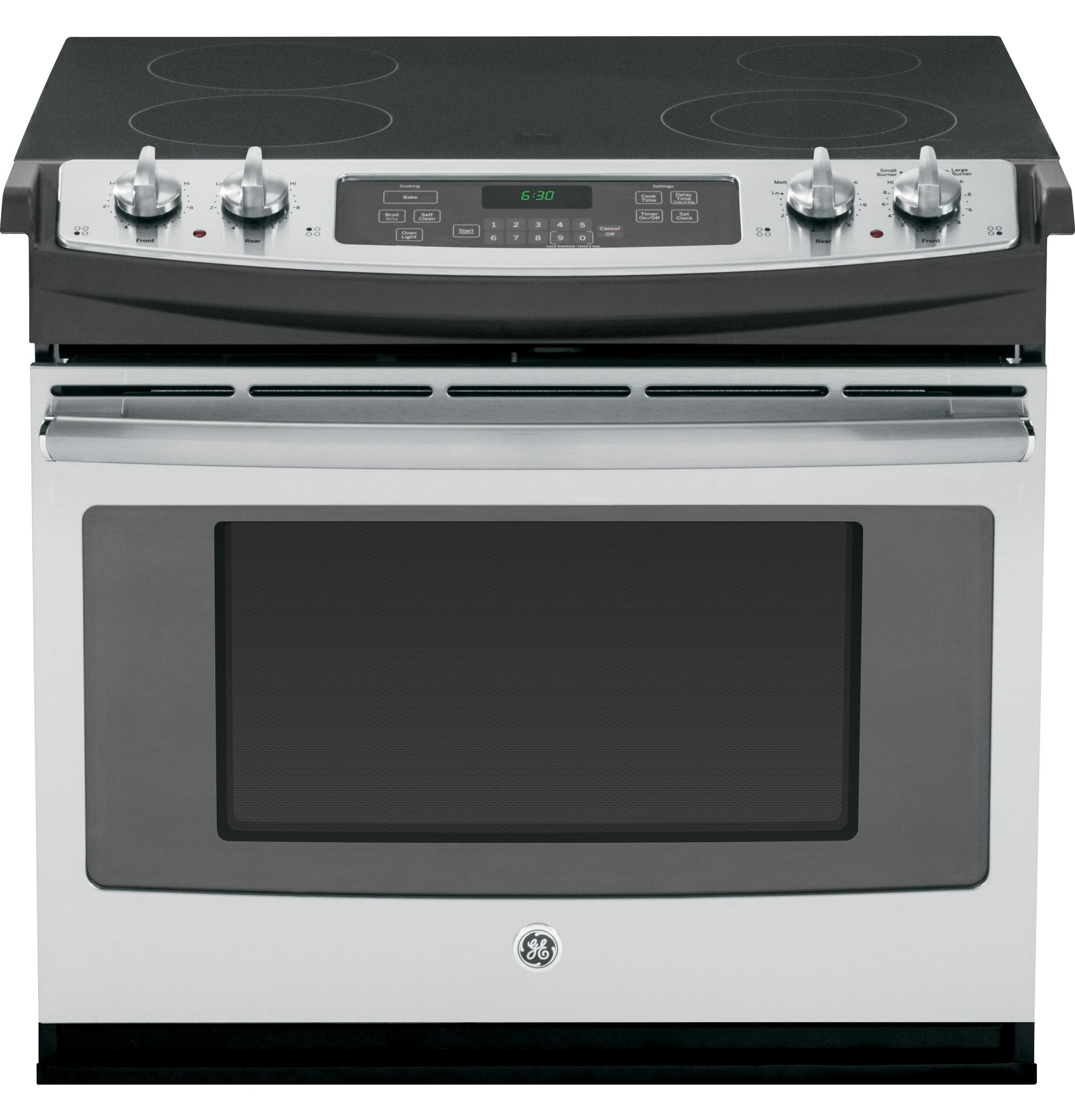 "GE(R) 30"" Drop-In Electric Range