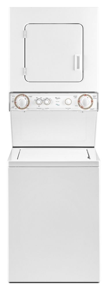 1.5 cu. ft. Stacked Laundry Center with Gas Dryer and Gentle Wash System