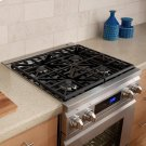 """Distinctive 30"""" Dual-Fuel Range,, in Stainless Steel with Liquid Propane Product Image"""