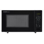 Sharp1.1 cu. ft. 1000W Sharp Countertop Black Microwave