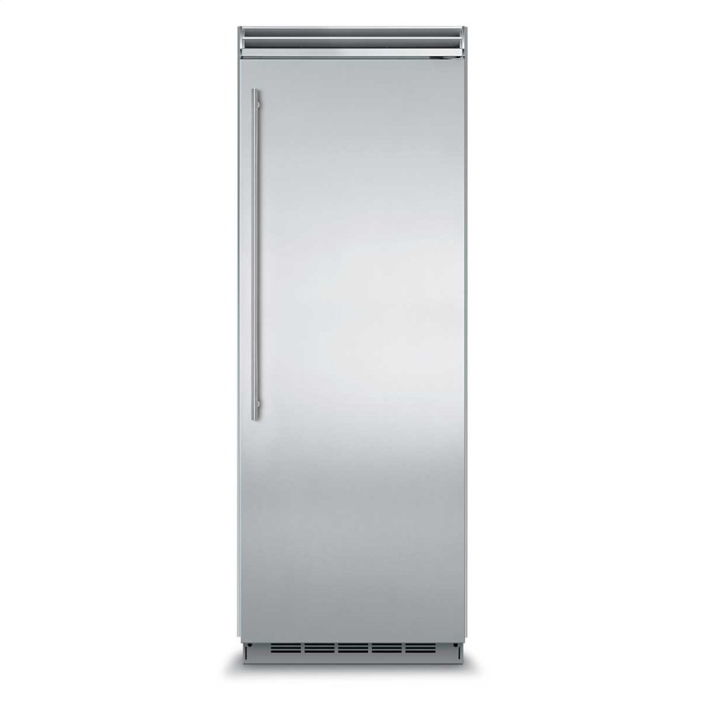 "Professional Built-In 30"" All Freezer - Panel-Ready Solid Overlay Door - Right Hinge*"
