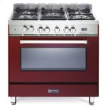 VeronaVerona 36&quot Dual Fuel Convection Range