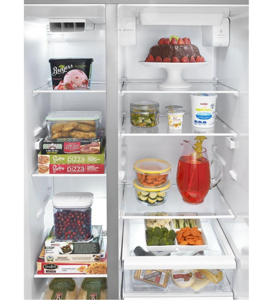Wrs576fidm whirlpool 36 inch wide side by side refrigerator with temperature control 26 cu ft - Whirlpool discount ...