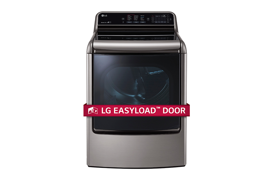9.0 cu. ft. Mega Capacity TurboSteam Dryer with EasyLoad Door