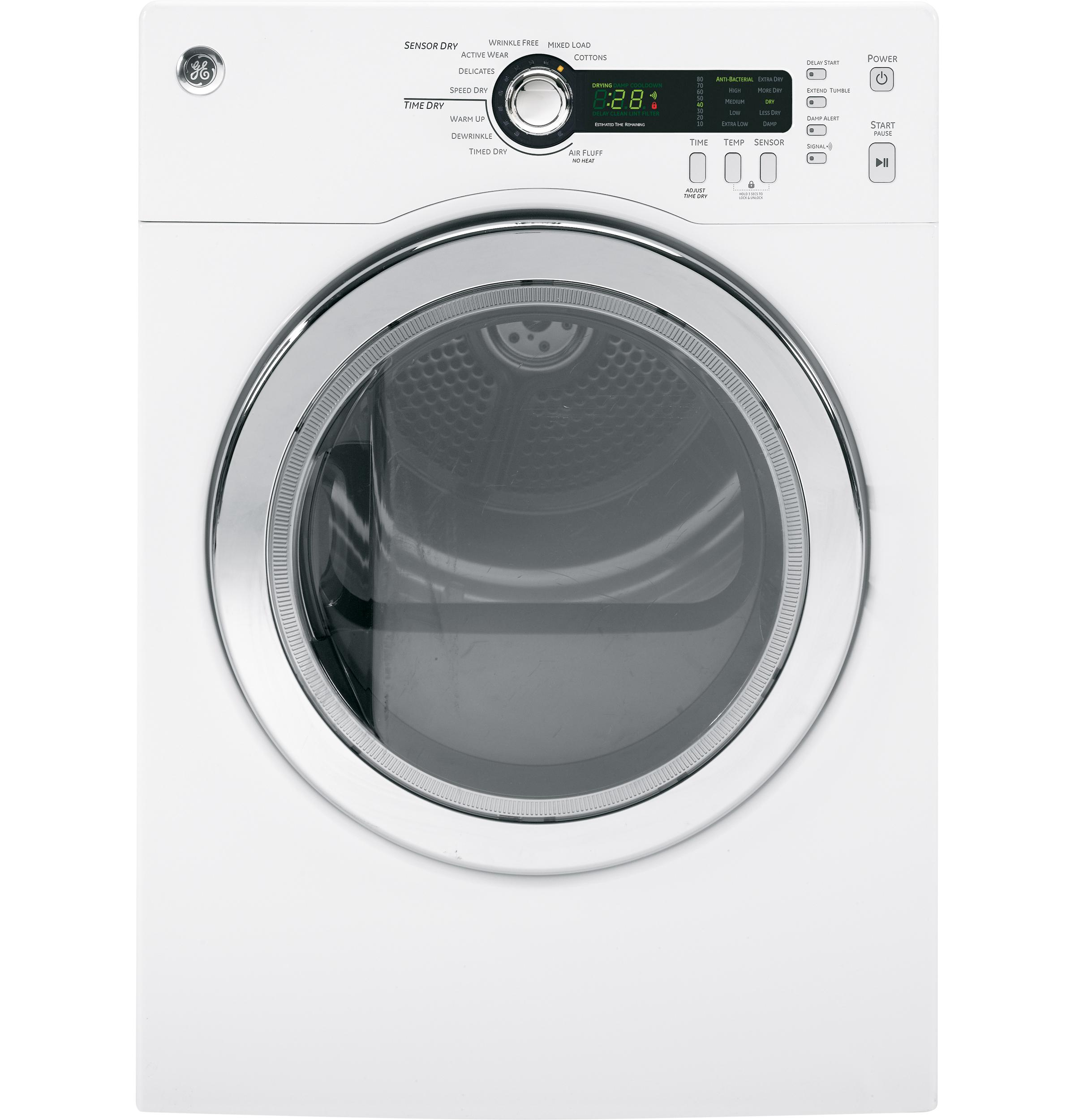 GE(R) 4.0 Cu.Ft. Capacity Electric Dryer