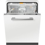 MieleMiele Fully-integrated, full-size dishwasher with hidden control panel, 3D+ cutlery tray, custom panel and handle ready